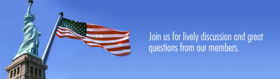 Join us for a lively discussion and great questions from our members
